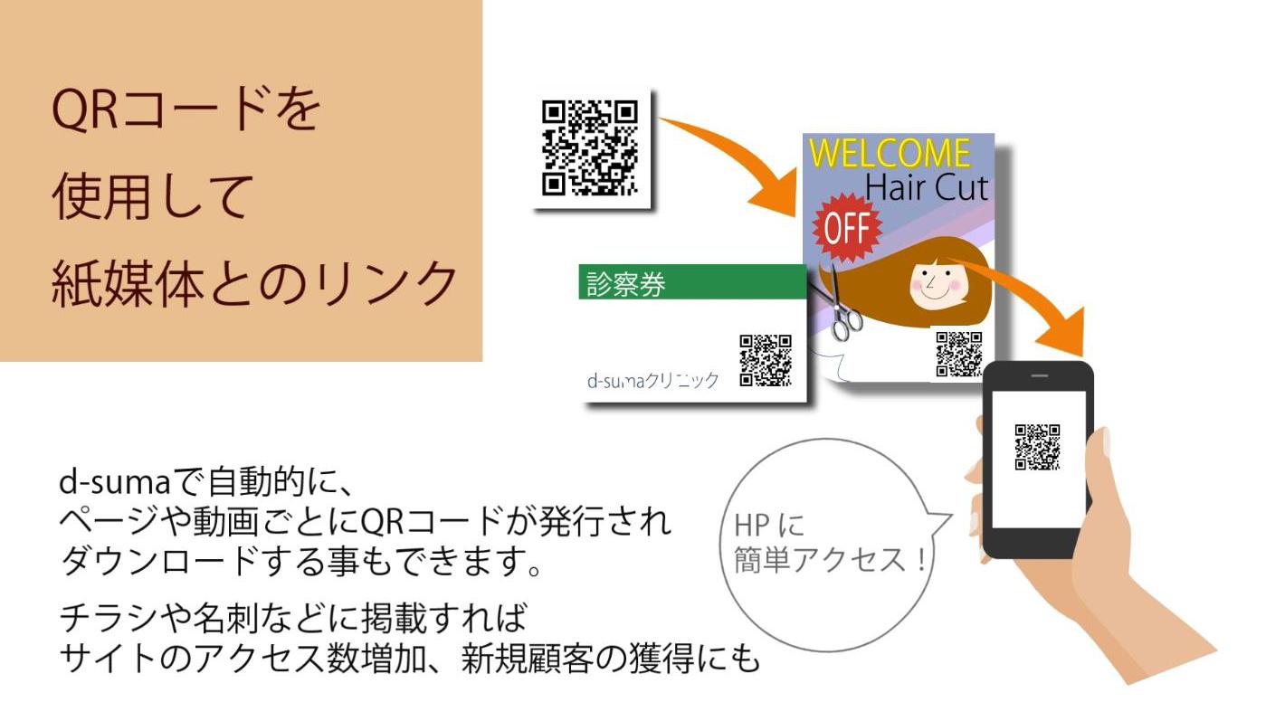 QRコードを作って(作成・生成)、お店の宣伝に使いたい!
